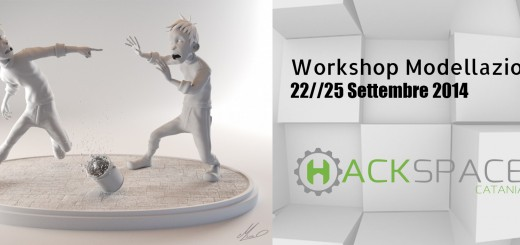 Workshop modellazione 3D