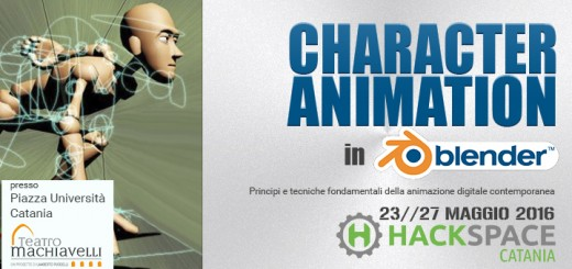 character animtaion hackspace